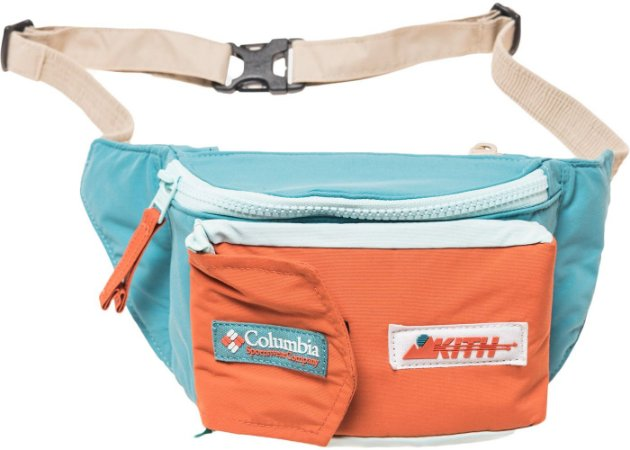 """KITH x Columbia - Pochete Sling Pack Popo """"Teal"""""""