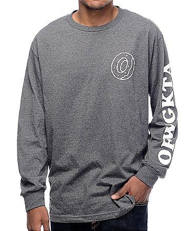 "ODD Future - Camiseta Donut OFWGKTA ""Grey"""