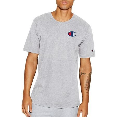 "CHAMPION - Camiseta Graphic C ""Grey"""