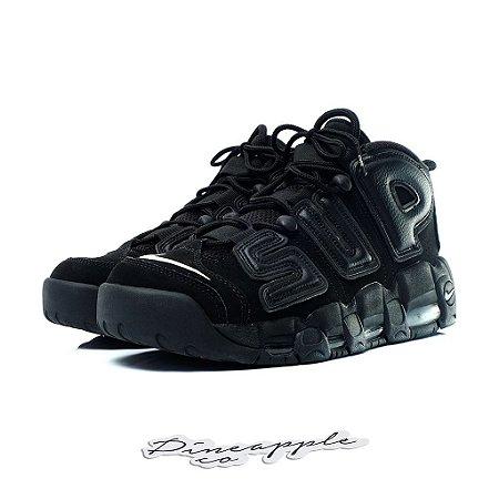 """Nike Air More Uptempo x Supreme """"Suptempo Black"""""""