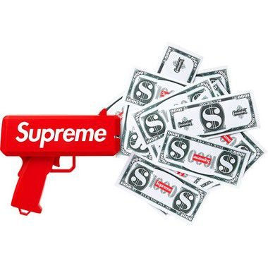 Supreme x CashCannon - Money Gun