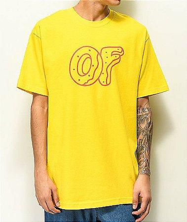 "ODD Future - Camiseta Classic Donut ""Yellow"""