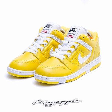 "Nike SB Air Force 2 Low x Supreme ""Yellow"""