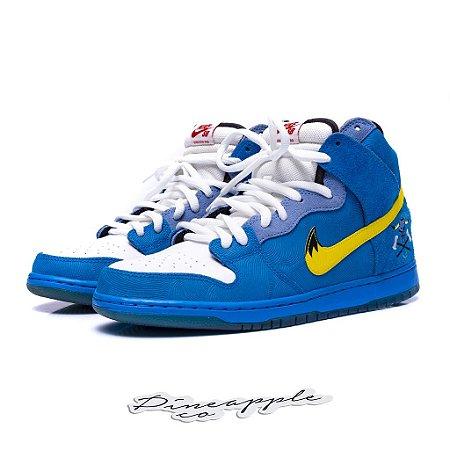 "Nike SB Dunk High x Familia Skates ""Blue OX"""