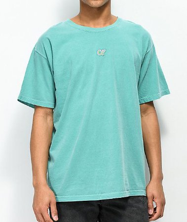 "ODD Future - Camiseta Embroidered ""Turquoise"""