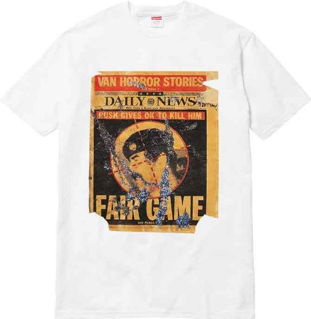 "SUPREME - Camiseta Dash Snow ""White"""