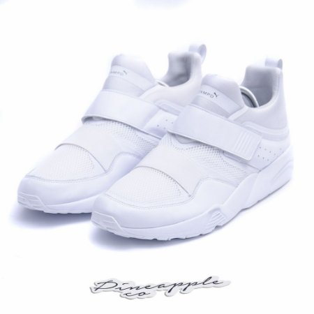 "Puma Blaze of Glory x Stampd ""Triple White"""