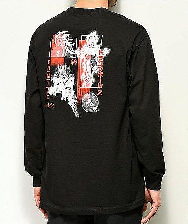 "Primitive x Dragon Ball Z - Camiseta Collage ""Black"""