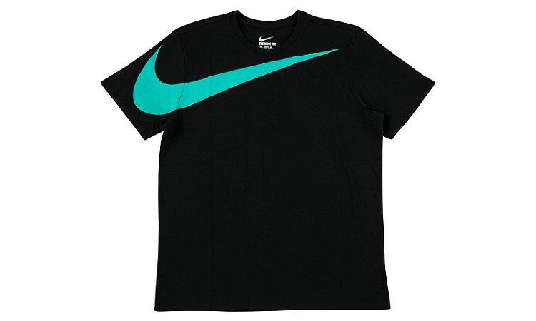 "Nike x Atmos - Camiseta Big Swoosh ""Black"""