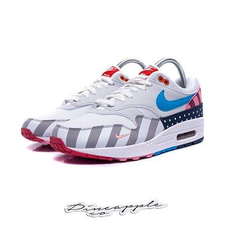 "Nike Air Max 1 x Parra ""White/Pure Platinum"" (2018)"