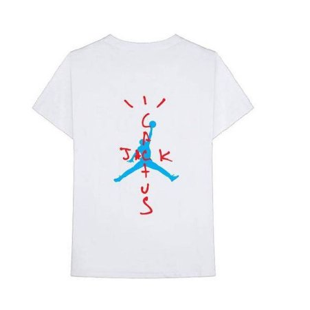"NIKE - Camiseta Travis Scott Air Jordan Cactus ""White"""