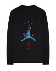 "NIKE - Camiseta Travis Scott Air Jordan Cactus ""Black"""
