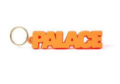 "PALACE - Chaveiro Rubber ""Orange"""