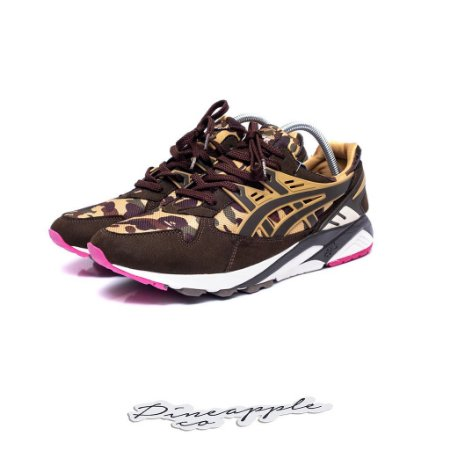 "Asics Gel Lyte Kayano x Bape ""Brown Camo"""