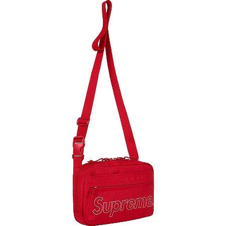 """SUPREME - Bolsa Shoulder Bag FW18 """"Red"""""""