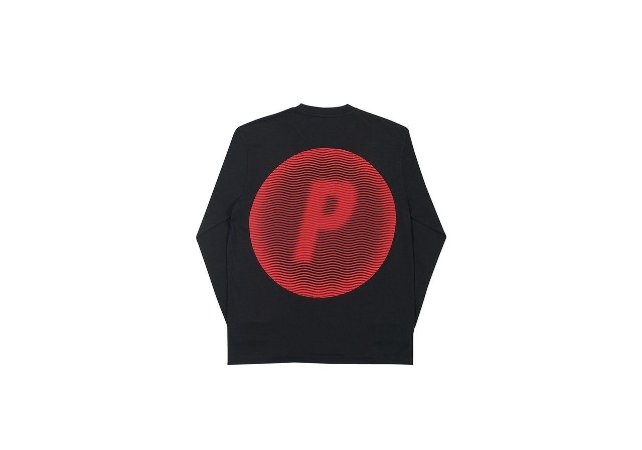"PALACE - Camiseta Pircular ""Black"""