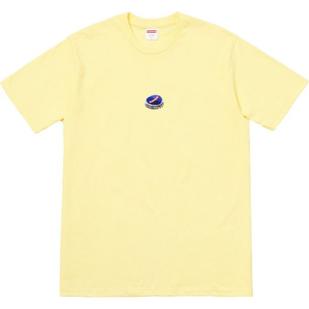 "SUPREME - Camiseta Bottle Cap ""Yellow"""