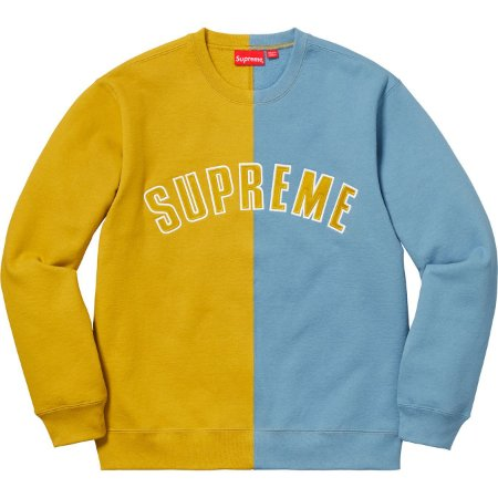 "SUPREME - Moletom Split ""Yellow"""