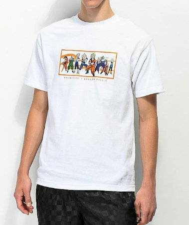 "Primitive x Dragon Ball Z - Camiseta Nuevo ""White"""