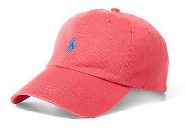 "Polo Ralph Lauren - Boné Baseball ""Dark Pink"""