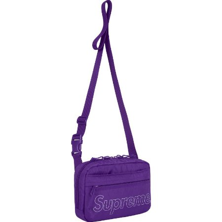 "SUPREME - Bolsa Shoulder Bag FW18 ""Purple"""