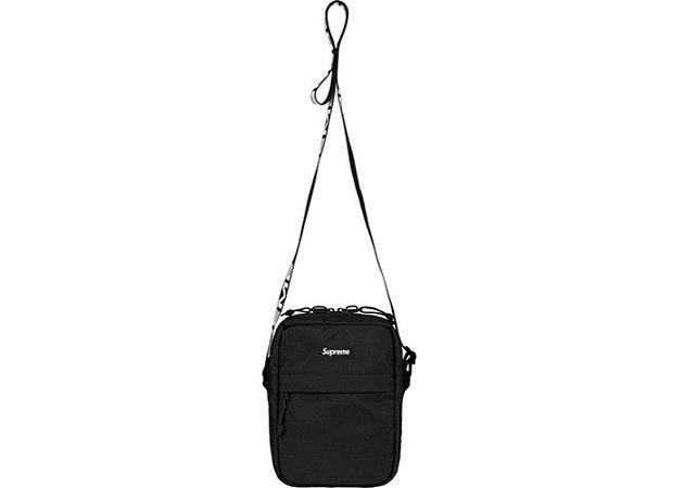 """SUPREME - Bolsa Shoulder Bag SS18 """"Black"""""""