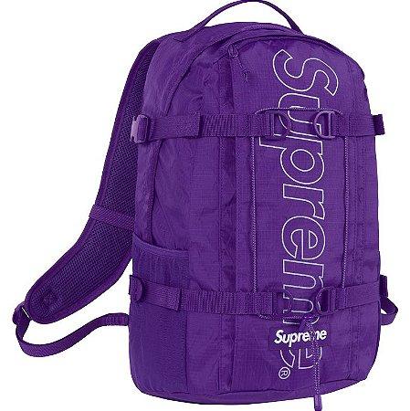"""SUPREME - Mochila FW18 """"Purple"""""""