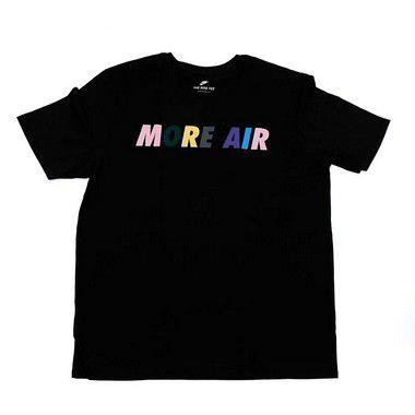 """NIKE - Camiseta More Air """"Black"""""""