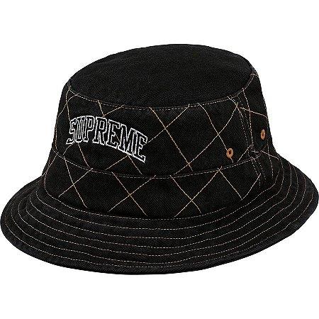 "SUPREME - Pescador Diamond Stitch Crusher ""Black"""
