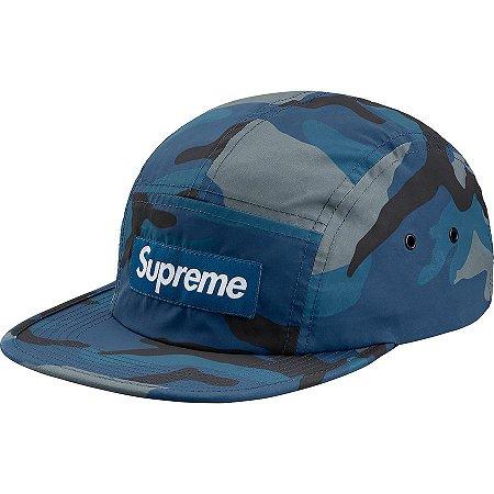 "SUPREME - Boné Reflective Camo Camp ""Blue"""