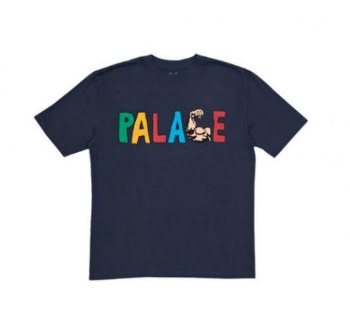 """PALACE - Camiseta Muscle """"Navy"""""""