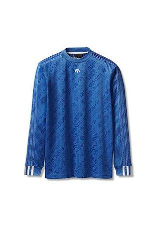 "adidas x Alexander Wang - Camiseta Soccer ""Blue"""
