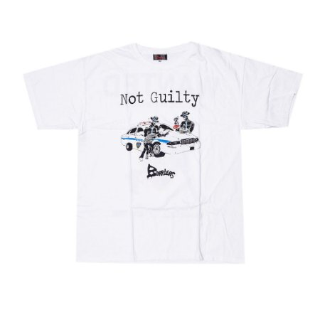 """BARRIERS - Camiseta Not Guilty """"White"""""""