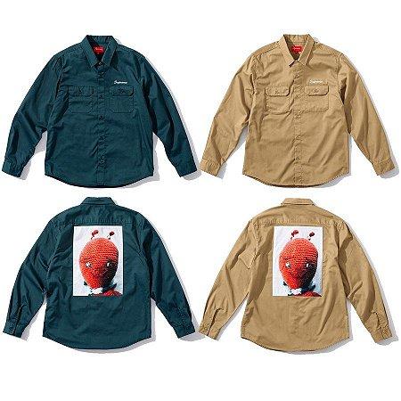 ENCOMENDA - Supreme x Mike Kelley - Camisa Work Ahh Youth