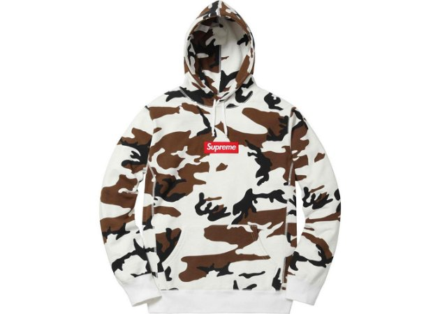 "SUPREME - Moletom Box Logo ""Camo"""