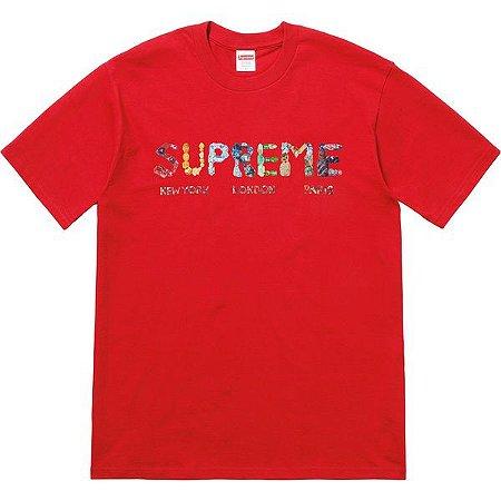 "SUPREME - Camiseta Rocks ""Red"""