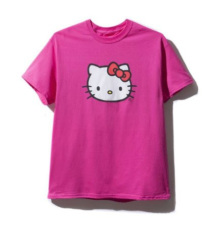 "Anti Social Social Club - Camiseta Hello Kitty ""Pink"""