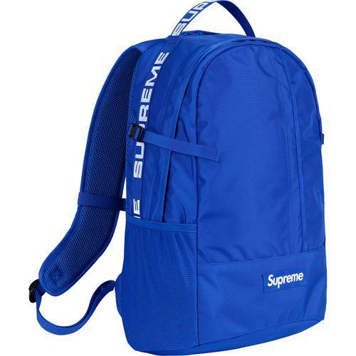 "SUPREME - Mochila Cordura Ripstop Nylon SS18 ""Blue"""