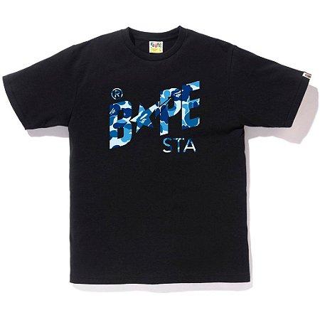 """BAPE - Camiseta ABC Bapestar """"Black"""""""