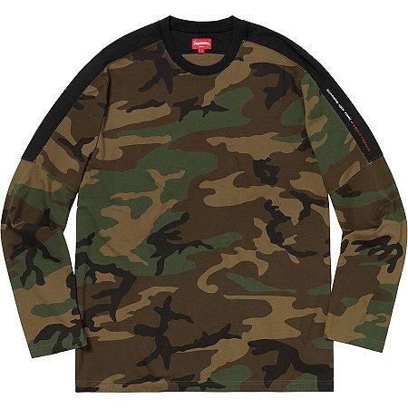 "SUPREME - Camiseta Paneled ""Camo"""