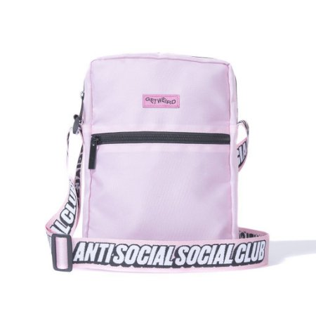 "ANTI SOCIAL SOCIAL CLUB - Bolsa Shoulder Side ""Pink"""