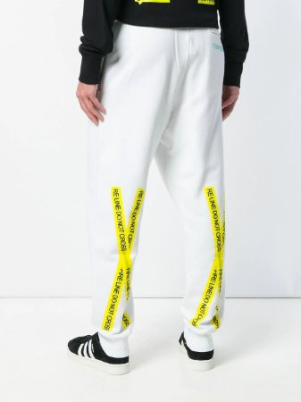 "OFF-WHITE - Calça Firetape ""White"""