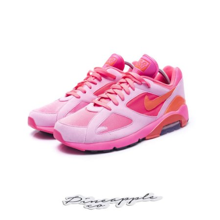 """Nike Air Max 180 x Comme des Garcons """"Pink"""""""