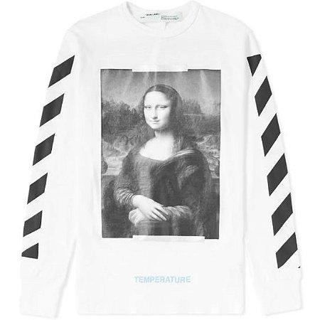 """OFF-WHITE - Camiseta Mona Lisa """"White"""""""