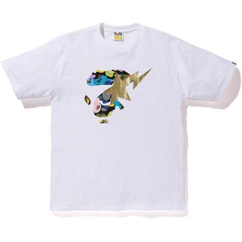 """BAPE - Camiseta ABC Multi Ape Face On Bapesta """"White"""""""