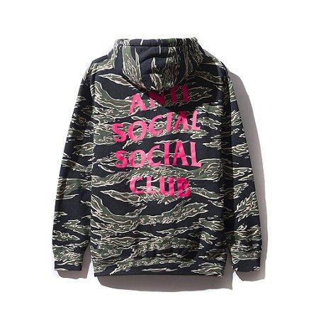 """ANTI SOCIAL SOCIAL CLUB - Moletom Cheetah Camo """"Black"""""""