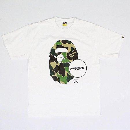 """BAPE X HYPEFEST - Camiseta Big Ape Head + Chaveiro """"White"""""""