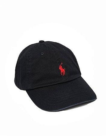 "Polo Ralph Lauren - Boné Baseball ""Black"""