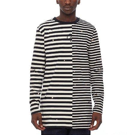 """OFF-WHITE - Camiseta Striped """"Black/White"""""""