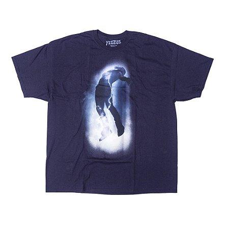 """Kanye West - Camiseta Yeezus Tour Storm """"Navy"""""""